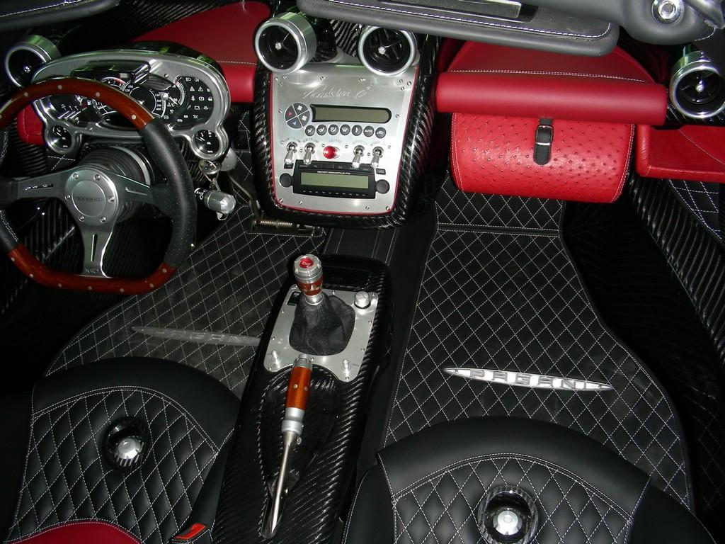Pagani Zonda F Roadster Interior   www.pixshark.com ...
